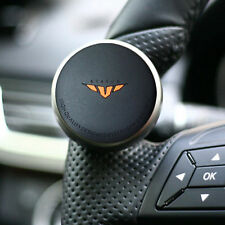 Mini Compact Car Steering Wheel Spinner Knob Auxiliary Aid Control handle Black
