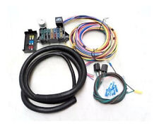 Universal 15 Circuit Street Rod Wiring Wire Harness Kit