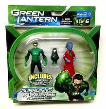 "DC Comics GREEN LANTERN HAL JORDAN & BARRIS 3.75"" figures set , Justice league"