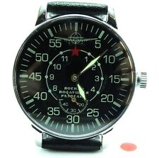 POLJOT AVIATOR Aerial Reconnaissance Mechanical Military Wrist Watch Russian