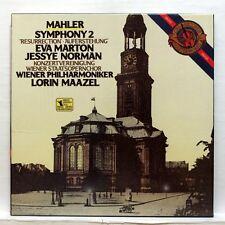 LORIN MAAZEL - MAHLER symphony no.2 CBS digital 2xLPs box EX++