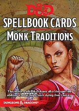 Dungeons & Dragons Next RPG: Monk Traditions Spellbook Deck (19 cards)