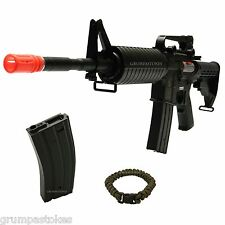 ELECTRIC AIRSOFT LICENSED-COLT M4A1 M4 CARBINE AEG AUTO-RIFLE-FULL METAL GEARBOX