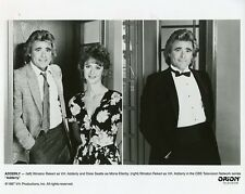 WINSTON REKERT DIXIE SEATLE SMILING PORTRAIT ADDERLY ORIGINAL 1987 CBS TV PHOTO
