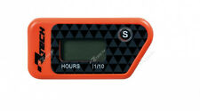 RACETECH CONTAORE SENZA FILI RESETTABILE WIRELESS HOUR METER MOTO CROSS ARANCIO