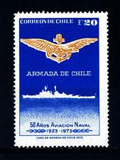 "CHILE - CILE - 1973 - 50° anniversario ""Naval Air Force"""