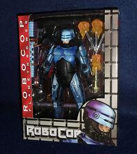 """Robocop vs Terminator 1993 Video Game ROBOCOP w/ Flamethrower 7"""" Figure NECA"""