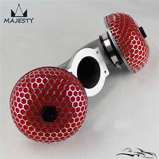 Fit 90-96 Nissan 300zx Twin Turbo Air Induction Intake Red Mushroom Filter