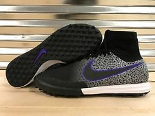 Nike MagistaX Proximo TF Turf Soccer Shoes Black Safari SZ 8 ( 718359-001 )