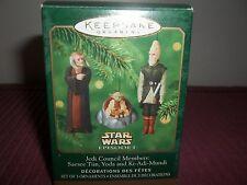 Star Wars Hallmark Ornament- Jedi Council Members