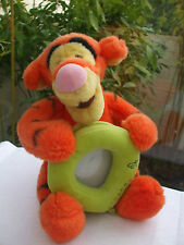 PELUCHE CADRE PORTE PHOTO TIGRE 24 CM TIGROU AMI DE WINNIE L'OURSON DISNEY STORE