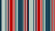 Fabric 100% cotton, Makower UK. Seaview Deckchair stripe 1641/1