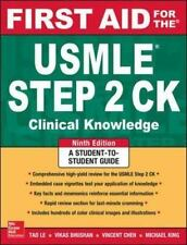 First Aid for the USMLE Step 2 CK, 9th ed by Tao Le and Vikas Bhushan (E-BOOK)