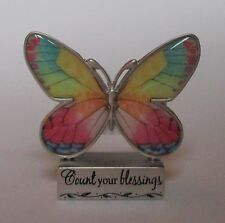 g Count Your Blessings BUTTERFLY FIGURINE ganz gratitude thankful heart mini