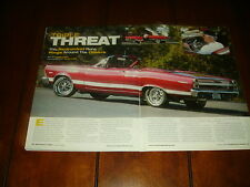1967 FORD FAIRLANE 500 XL CONVERTIBLE ***ORIGINAL 2006 ARTICLE***