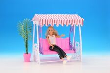 GLORIA DOLL HOUSE SIZE FURNITURE SWING PLAYSET FOR BARBIE