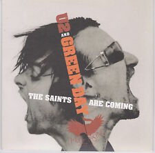 """U2 and Green Day - The Saints Are Coming - Scarce 2006 UK Ltd Numbered 2trk 7"""""""