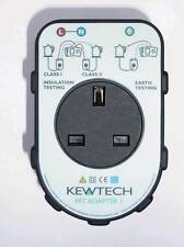 Kewtech PAT Adaptor, PATADAPTOR1, Converts Your MFT into a PAT Tester cheaply!!