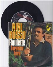 "Nini Rosso, Roulette, G/VG  7"" Single 999-360"
