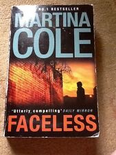 Martina Cole thriller faceless paperback book good used condition. 2010
