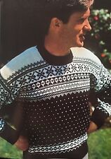 Knitting Pattern For Warm Winter Jumper Christmas