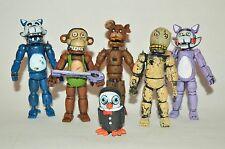 TOY MEXICAN 6 FIGUREs FIVE NIGHTS AT FREDDY'S ANIMATRONICS candys 4 in.
