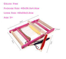 High Quality Portable Wooden Weaving loom Pad Hand Craft Large Size 40x25x3.5cm