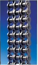 #50-3R x10FT Triple Strand Riveted Roller Chain With Connecting Link Triplex