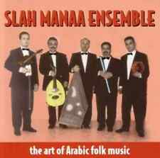 "SLAH MANAA ENSEMBLE ""The Art Of Arabic Folk Music"" (CD 1998) 11-Tracks EXCELLENT"