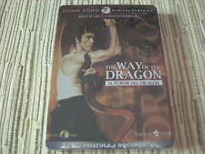 DVD PELICULA EL FUROR DEL DRAGÓN WAY OF THE DRAGON CAJA METAL BRUCE LEE NUEVA