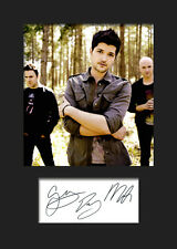 THE SCRIPT #1 Signed Photo Print A5 Mounted Photo Print - FREE DELIVERY