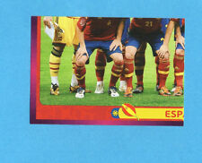 PANINI-EURO 2012-Figurina n.285- SQUADRA/TEAM 3/4 - SPAGNA -NEW-DARK BOARD