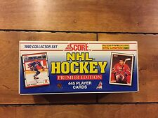 Score NHL Hockey Cards 1990 Collector Set Premier Edition Unopened sealed