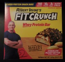 Box of 18 Fit Crunch Bars Chocolate Peanut Butter (46 grams)