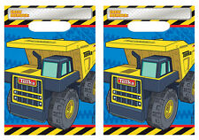 16ct Tonka Truck Loot,Treat,Favor Bags Birthday Decorations Party Favor Supplies