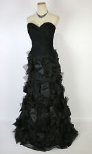 New Authentic Jovani 2041 Black Ball Gala Evening Pageant Women Gown 6