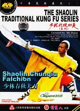 Shao Lin Traditional Kungfu Series - Shaolin Chunqiu Falchion by Shi Dejun DVD