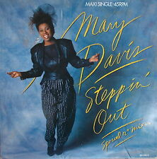"""12"""" Mary Davis – Steppin' Out ,VG+.cleaned,Tabu Records – TBU 651256 6"""