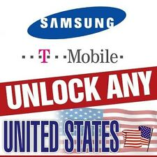UNLOCK CODE SAMSUNG GALAXY S7 EDGE S6 EDGE GRAND PRIME CORE PRIME T-MOBILE USA