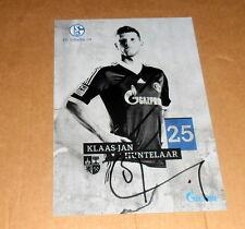 Klaas-Jan Huntelaar *Niederlande*, original signierte AutogrammKarte 10x15 cm