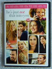 LIKE NEW He's Just Not That Into You WS FF DVD Bradley Cooper Drew Barrymore BUY