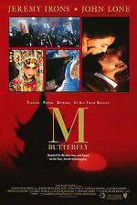 M BUTTERFLY (1993) ORIGINAL MOVIE POSTER  -  ROLLED  -  DOUBLE-SIDED