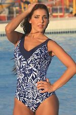 Ujena Vintage Blue Skinny Diva Size: 14 bathing suit WE SHIP DAILY! A103-14