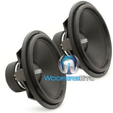 "(2) SUNDOWN AUDIO SA-18 D4 18"" 1200W RMS DVC 4-OHM SUBWOOFERS BASS SPEAKERS NEW"