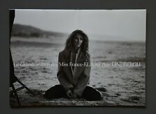 Peter Lindbergh 2008 Photo Kalender Calendar Calendrier Miss France 40x29cm B&W
