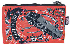 Liquor BRAND Oldschool Coffin Live quasi cosmetic bag ROCKABILLY