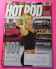 HOT ROD MAGAZINE FEB/2013...INSIDE CHEVY'S ALL-NEW 2014 V8..101 GEARHEAD GADGETS