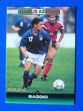 RARA CALCIO CARDS SCORE GOLD 93 - n. 316 - ROBERTO BAGGIO - MAGLIE AZZURRE