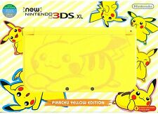 Nintendo NEW 3DS XL Console Pokemon Pikachu Yellow Limited Edition USA