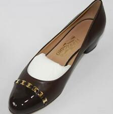 AUTH Salvatore Ferragamo Women Pim 3cm Heel Shoes 9B